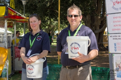 Official volunteers for the Riverland Wine and Food Festival