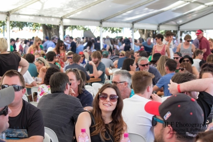 Over 2000 people attended the Wine & Food Festival